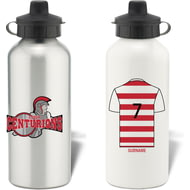Personalised Leigh Centurions Aluminium Sports Water Bottle