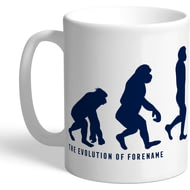 Personalised Tottenham Hotspur Evolution Mug