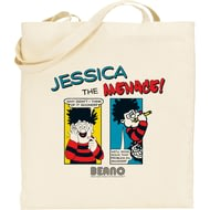 Personalised Beano Classic Comic Strip Problem Solved Tote Bag
