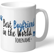Personalised Birmingham City Best Boyfriend In The World Mug