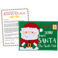 Personalised Santa Letter & Envelope