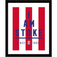 Personalised Stoke City I Am Framed Print