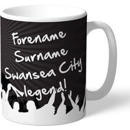 Personalised Swansea City AFC Legend Mug