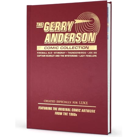 Personalised Gerry Anderson Comic Collection Deluxe Edition
