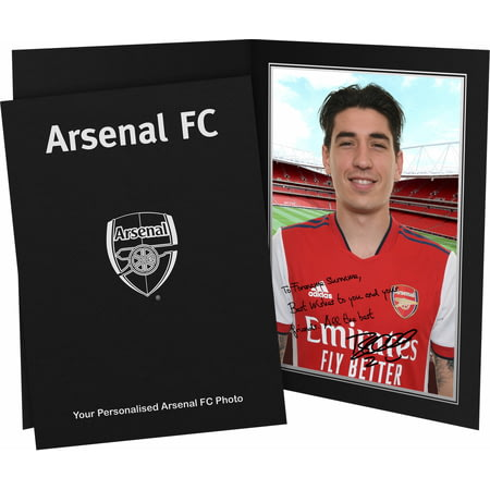 Personalised Arsenal FC Bellerin Autograph Photo Folder