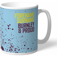 Personalised Burnley FC Proud Mug