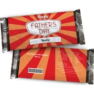 Personalised Father's Day Chocolate Bar