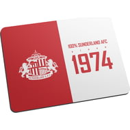 Personalised Sunderland AFC 100 Percent Mouse Mat