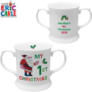 Personalised Very Hungry Caterpillar My 1st Christmas Loving Cup