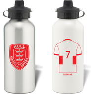 Personalised Hull Kingston Rovers Aluminium Sports Water Bottle