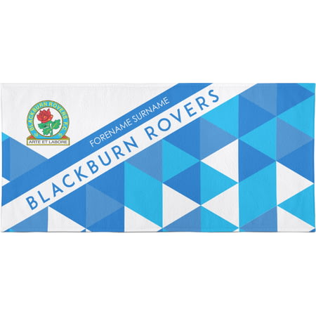 Personalised Blackburn Rovers Bath Towel -  70 x 140cm