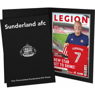 Personalised Sunderland AFC Magazine Front Cover Photo Folder