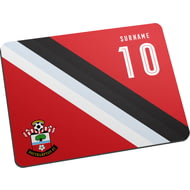 Personalised Southampton FC Stripe Mouse Mat