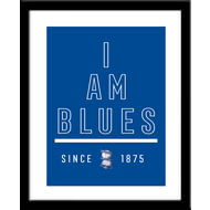 Personalised Birmingham City I Am Framed Print