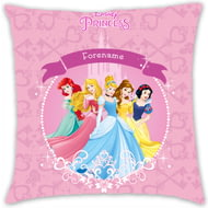 Personalised Disney Princess Group Cushion - 45x45cm