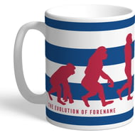 Personalised Reading FC Evolution Mug