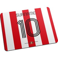 Personalised Sunderland AFC Retro Shirt Mouse Mat