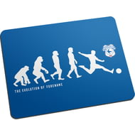 Personalised Cardiff City Evolution Mouse Mat
