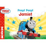 Personalised Peep! Peep! Thomas Story Book