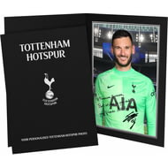 Personalised Tottenham Hotspur FC Lloris Autograph Photo Folder