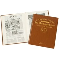 Personalised Cleveland Browns American NFL Football Newspaper Book