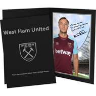 Personalised West Ham United FC Noble Autograph Photo Folder
