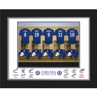 Personalised Chelsea FC Dressing Room Shirts Photo Folder