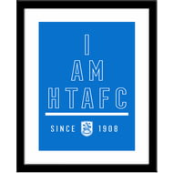 Personalised Huddersfield Town AFC I Am Framed Print