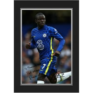 Personalised Chelsea FC Kante Autograph Photo Folder