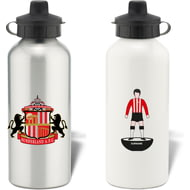 Personalised Sunderland AFC Player Figure Water Bottle