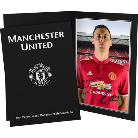 Personalised Manchester United FC Matic Autograph Photo Folder