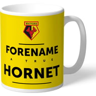 Personalised Watford True Hornet Mug