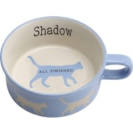 Personalised Best In Show Cat Food/Water Bowl