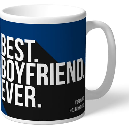 Personalised Bolton Wanderers Best Boyfriend Ever Mug
