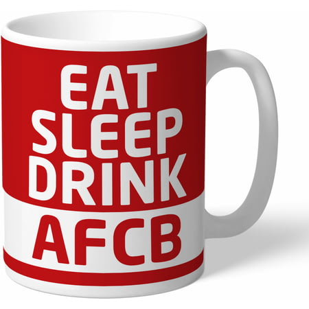 Personalised AFC Bournemouth Eat Sleep Drink Mug