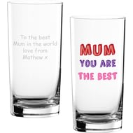 Personalised Mum You Are…Hi Ball Glass