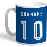 Personalised Birmingham City Retro Shirt Mug
