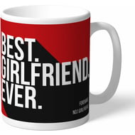 Personalised Bournemouth Best Girlfriend Ever Mug