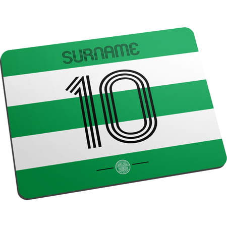 Personalised Celtic FC Retro Shirt Mouse Mat