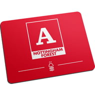 Personalised Nottingham Forest FC Monogram Mouse Mat