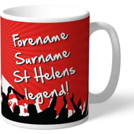 Personalised St Helens Legend Mug