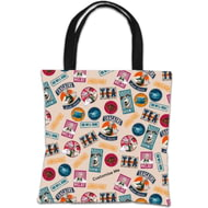 Personalised Wallace And Gromit Print Tote Bag