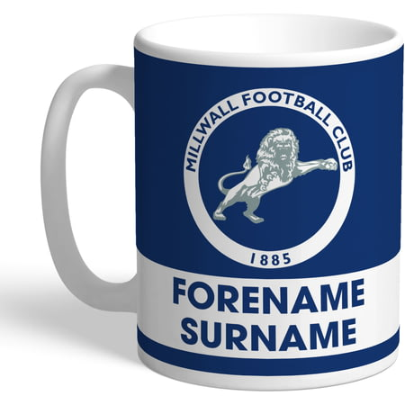 Personalised Millwall FC Eat Sleep Drink Mug
