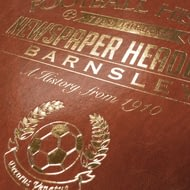 Personalised Barnsley Football Newspaper Book - Leatherette Cover