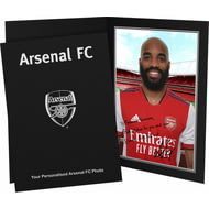 Personalised Arsenal FC Lacazette Autograph Photo Folder