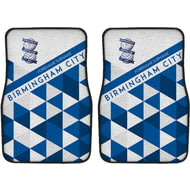 Personalised Birmingham City FC Patterned Front Car Mats