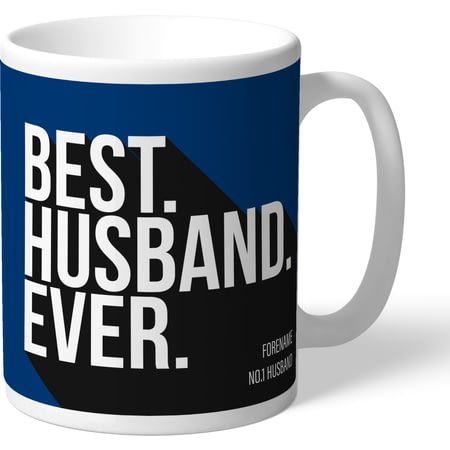 Personalised Bolton Wanderers Best Husband Ever Mug