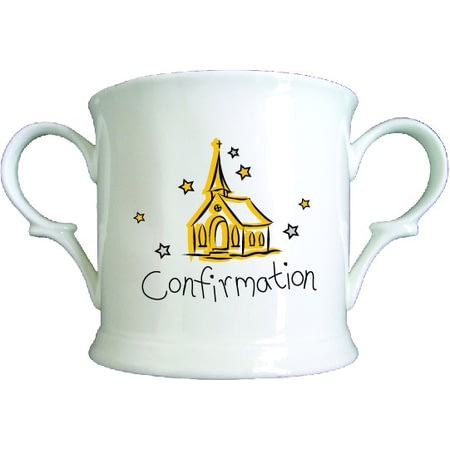 Personalised Church Confirmation Bone China Loving Cup