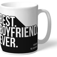 Personalised Derby County Best Boyfriend Ever Mug
