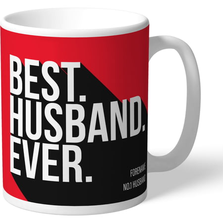Personalised Nottingham Forest Best Husband Ever Mug